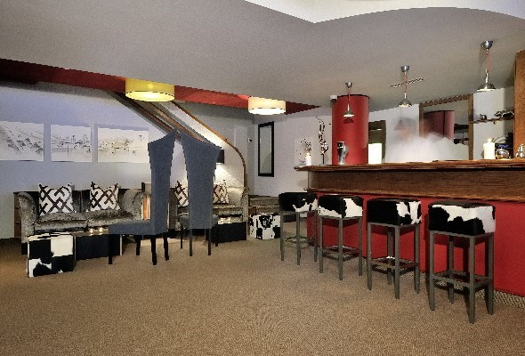 Spacious bar area