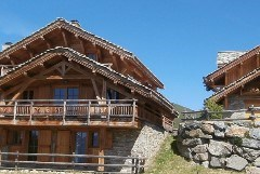 Exterior shot of Chalet La Ferme Summer
