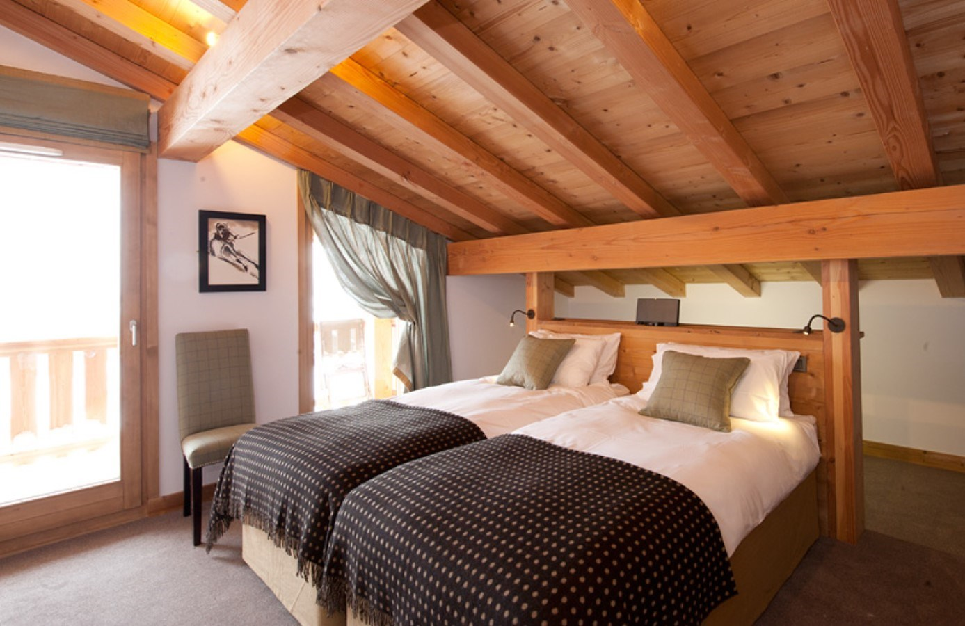 Lodge Bedroom Altitude Lodge Luxury Ski Chalet In Les Gets Vip Ski