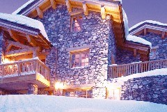 Exterior shot of Chalet Davos