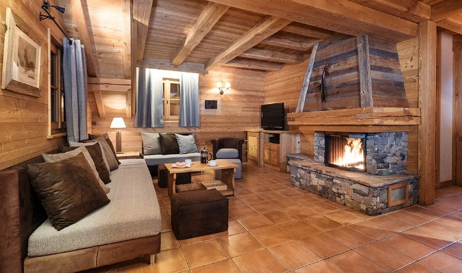Luxury 8 person chalet